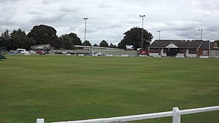 Kirkby Road Cricket ground in Barwell, England