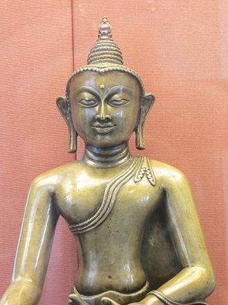 Tibetan art - Image: Tibetan Buddha (BM)