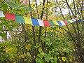 Tibetan prayer flags, samye dzong London.jpg