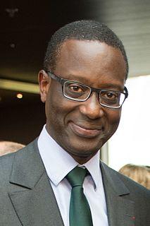 Tidjane Thiam Ivorian businessman