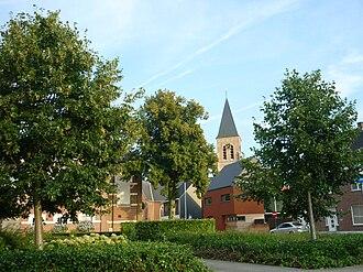 Tielen - View on the village center.