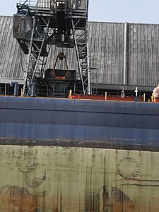 Tim S. Dool moored at the Redpath Sugar Refinery -k.jpg
