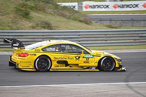 Team MTEK - Image: Timo Glock Hungaroring DTM20142