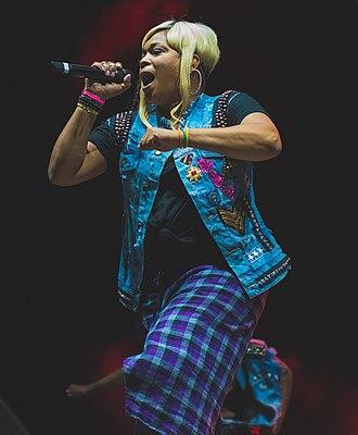 Tionne Watkins - Watkins performing in 2016