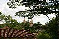 Tiradentes vue sur l'église de Matriz de Santo Antônio.jpg