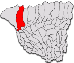 Location of Tismana