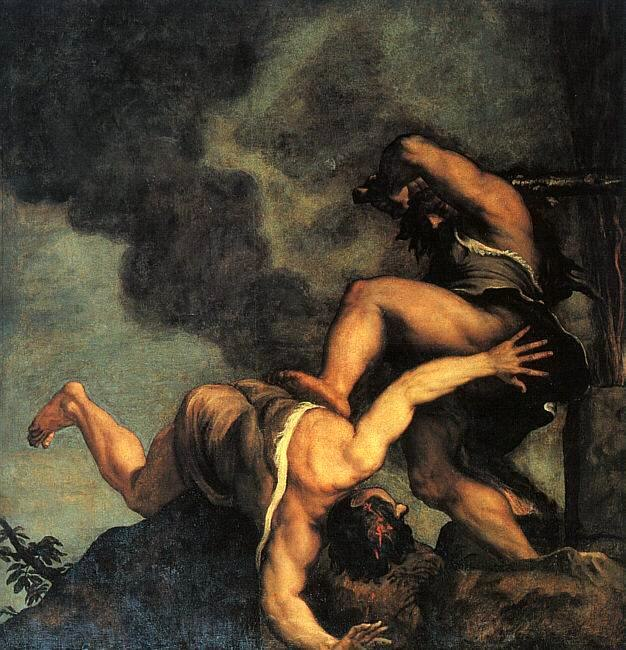 Titian - Cain and Abel