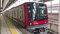 Tobu 71703F at Kita-Senju Station 2017.jpg