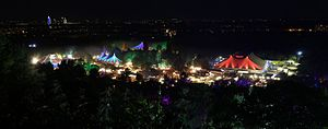 Tollwood Festival - Look at the late-night summer festival, 2013
