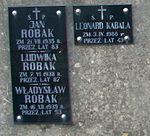Tomb of Robak family at Central Cemetery in Sanok 3.jpg