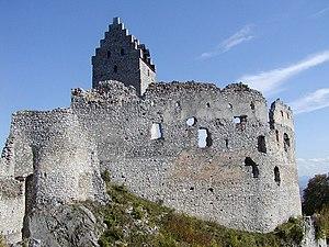 Medieval fortification - Castle of Topoľčany in Slovakia