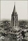 toren tijdens de restauratie gezien vanaf hoog standpunt - maastricht - 20327569 - rce