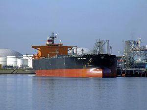 Torm Valborg p2 at the '7e Petroleumhaven', Port of Rotterdam, Holland 20-May-2007.jpg