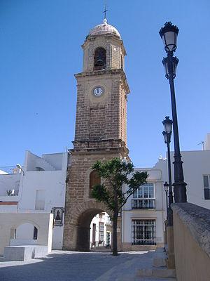 Chiclana de la Frontera - Torre del Reloj (plaza mayor).