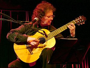 catalan guitarist Toti Soler performing live i...