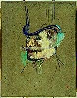 Toulouse-Lautrec - AU MOULIN-ROUGE; PORTRAIT DE MR WARNER, 1892, MTL.144.jpg