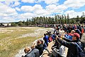 Tourists Viewing Old Faithful Eruption in 2019.jpg