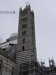 Tower of the Siena Cathedral.jpg