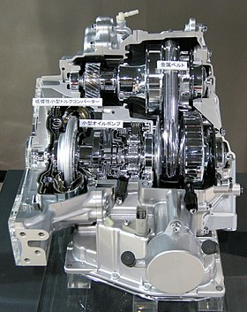 How To Rebuild Automatic Transmission >> Toyota K CVT transmission - Wikipedia