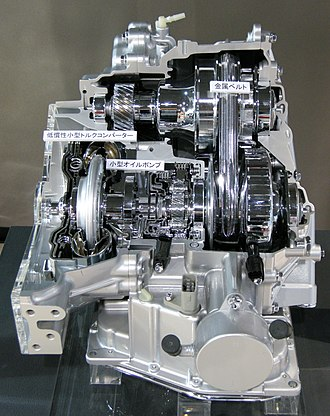 Continuously variable transmission - Toyota Super CVT - i