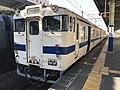 Train for Nishi-Karatsu Station at Saga Station 2.jpg