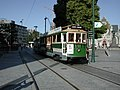 Tram 152 at Cathedral Square.jpg