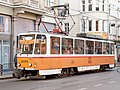 Tram in Sofia near Palace of Justice 2012 PD 013.jpg