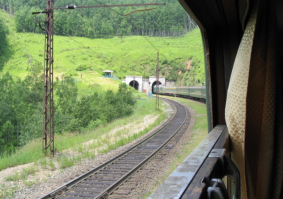 Trans-Siberian tunnel