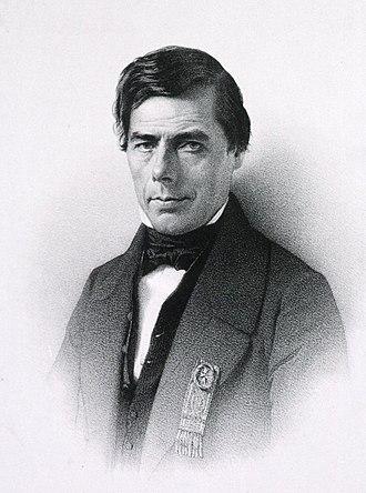 Ulysse Trélat (politician) - Portrait from Histoire de l'administration civile dans la province d'Auvergne et le département du Puy-de-Dôme, v4, 1897