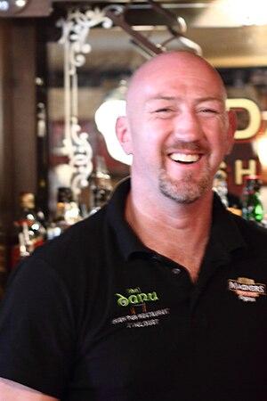 Trevor Brennan - Trevor Brennan at De Danú, his pub in Toulouse