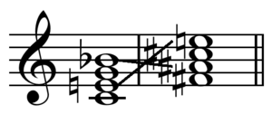 Chord substitution - Image: Tritone substitution