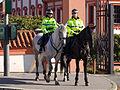 Trojský zámek, jízdní policie.jpg