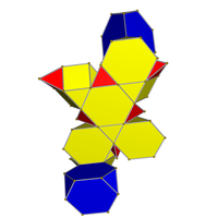 Truncated tetrahedral cupoliprism net.png