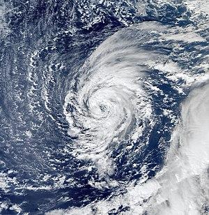 Tropical Storm Delta (2005) - Image: Ts delta 112405