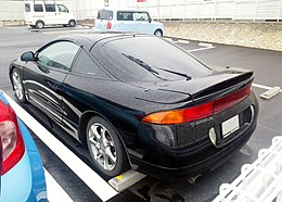 Tuned Mitsubishi ECLIPSE (D32A) rear.JPG