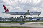 Turkish Airlines, Boeing 777-3F2(ER), TC-JJZ - PAE (20011430118).jpg
