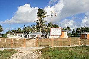 Funafuti - Tuvalu Meteorological Service station, Fongafale