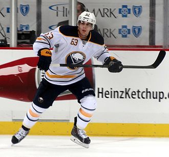 Tyler Ennis (ice hockey) - Ennis with the Buffalo Sabres in 2013