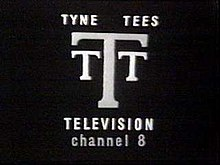 Three letter Ts on a black background. Beneath are the captions 'Tyne Tees Television' and 'Channel 8'