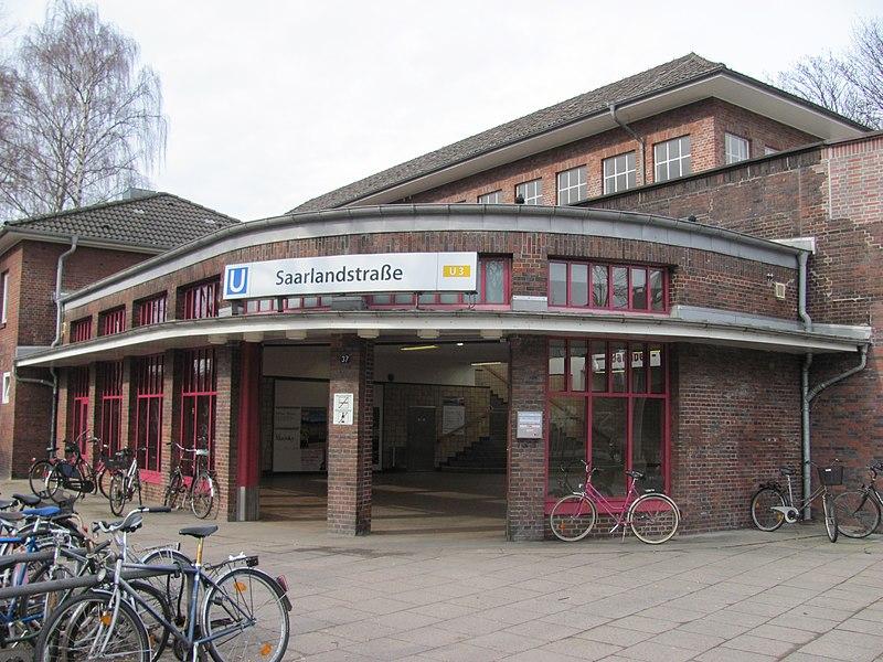 File:U-Bahnhof Saarlandstraße Zugangsgebäude.nnw.jpg