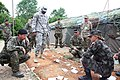 U.S., Croatian, Montenegrin and Slovenian soldiers, Slunj, Croatia, June 4, 2012.jpg