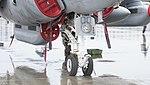 U.S. Marine Corps EA-6B Prowler(163046) of VMAQ-2 nose landing gear right front view at MCAS Iwakuni May 3, 2015 03.jpg
