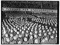 UI 197Fo30141702130017 Nasjonal Samling. Mønstringsmøte i Colosseum. Quisling og Axmann tilstede. 1941-02-01 (NTBs krigsarkiv, Riksarkivet).jpg