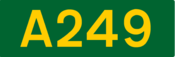 A249 road shield