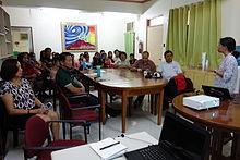 UPVTC nov2014 warwiki forum 1.JPG