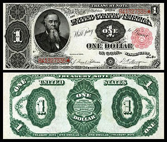 Treasury Note (1890–91) - Image: US $1 TN 1891 Fr 351