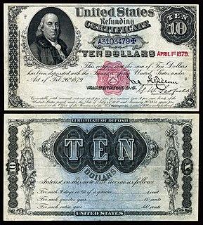 Refunding Certificate