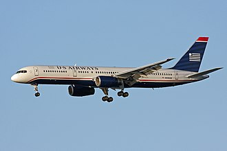 Boeing 757 - US Airways 757-200 in 2007
