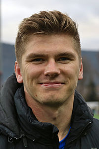 Owen Farrell, English professional rugby union player for Saracens