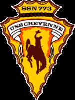 USS Cheyenne SSN-773 Crest